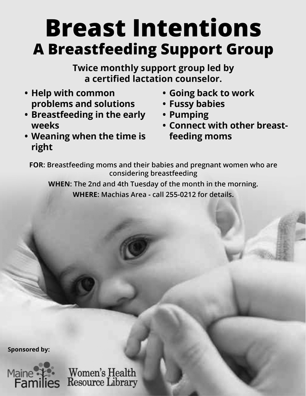 Breast Intentions: A New Support Group for Breastfeeding Moms