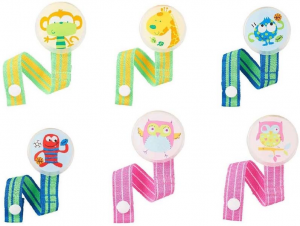 Babies 'R' Us Pacifier Clip Assortment